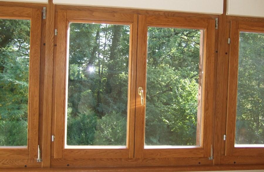 Ventanas tambi n un elemento decorativo las notas del for Aberturas de pvc simil madera precios